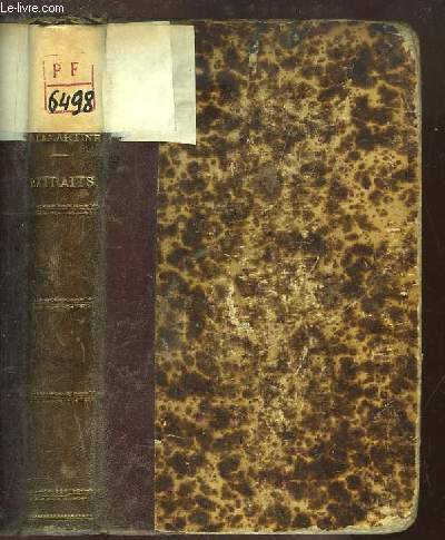 L'Oeuvre de De Lamartine. Extraits annotés à l'usage de la jeunesse, par G. Robertet.