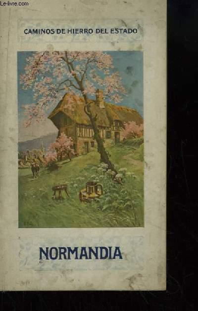Normandia, en la Historia en la Naturaleza en el Arte. Caminos de Hierro del Estado.