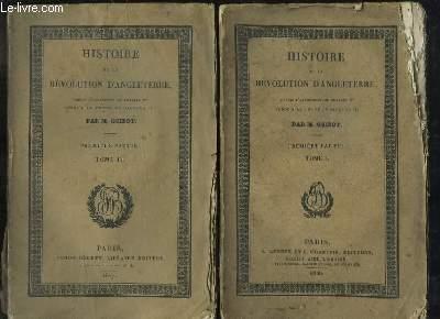 Histoire de la Révolution d'Angleterre, depuis l'avènement de Charles 1er jusqu'à la Restauration de Charles II. 1ère partie EN 2 TOMES