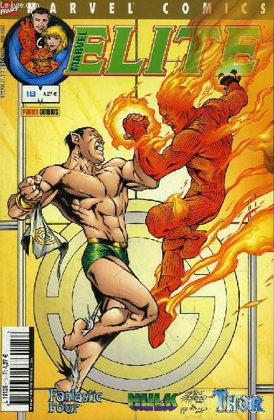 Marvel Elite N°18 : Une menace venue d'ailleurs.