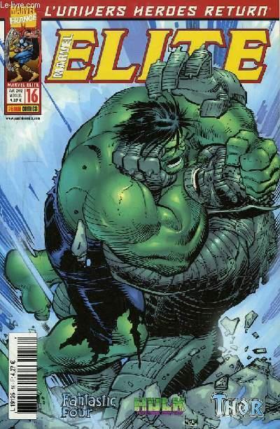 Marvel Elite N°16 : Jamais je ne t'oublierai