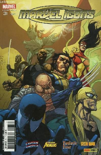 Marvel Icons N°31 : Le Fer et le Feu.