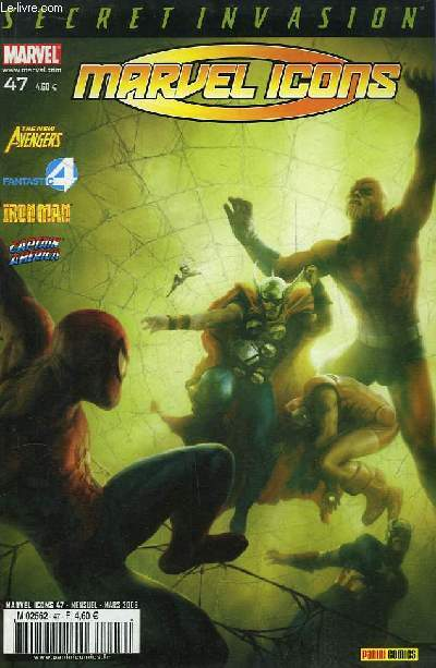 Marvel Icons N°47 : Les Cinq Cauchemars