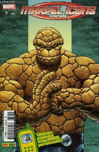 Marvel Icons Hors-Série N°7 : La chose riche et célèbre