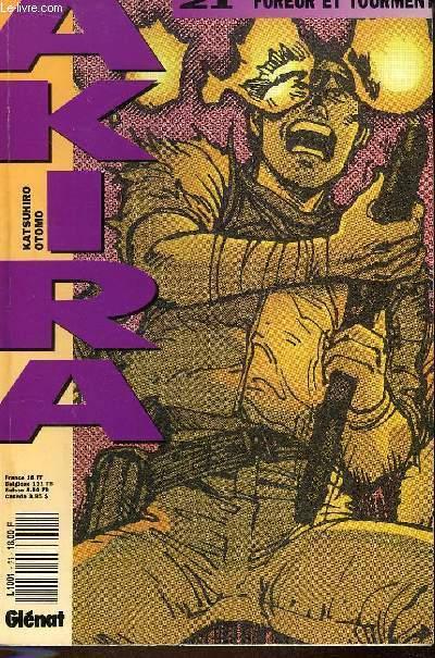 Akira N°21 : Fureur et tourment
