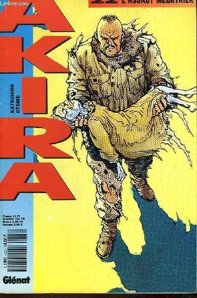 Akira N°22 : L'assaut meurtrier
