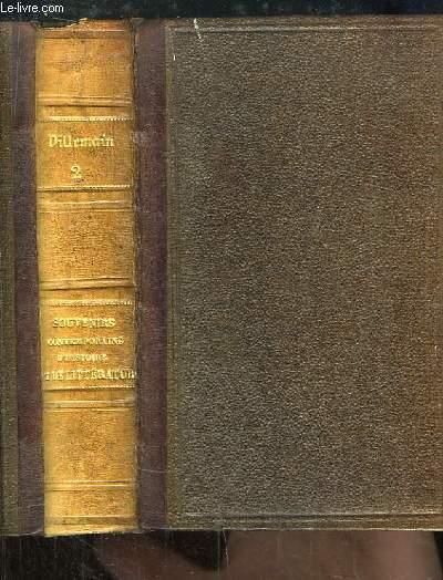 Souvenirs Contemporains, d'Histoire & de Littérature. 2nde partie : Les Cent Jours.