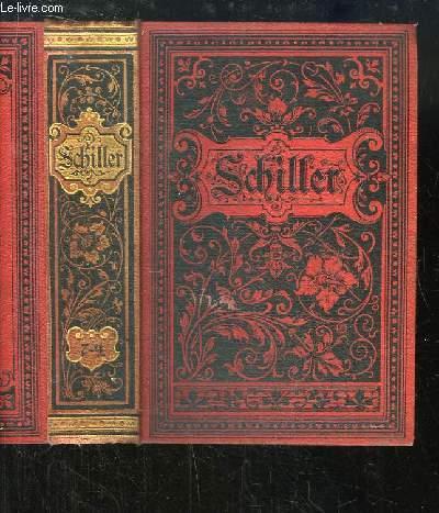 Schillers Sämmtliche Werke. TOMES 7 à 9, en UN SEUL VOLUME