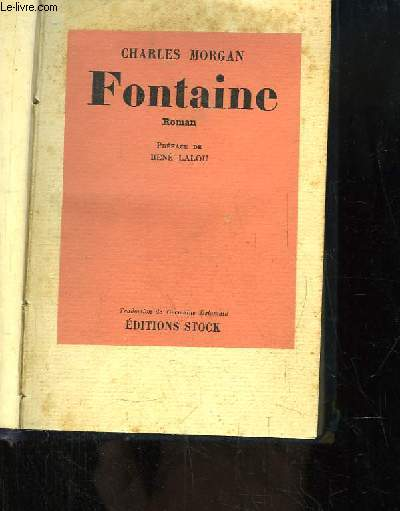 Fontaine. Roman