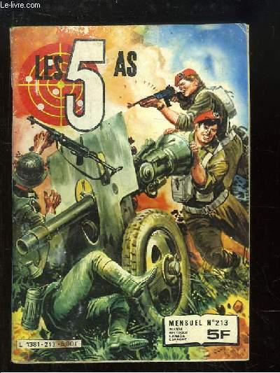 Les 5 As, N°213
