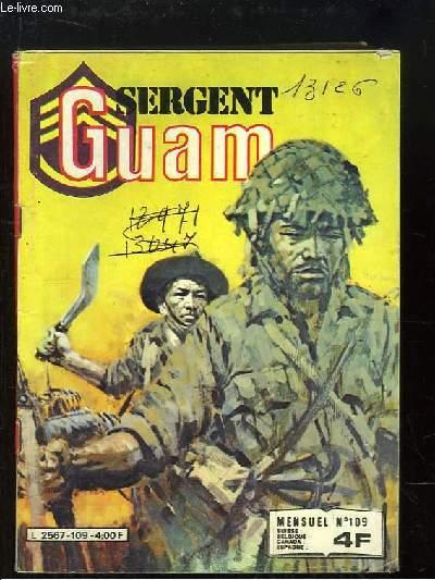 Sergent Guam, N°109 : Héros de Pacotille.