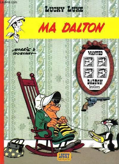 Lucky Luke N°7 : Ma Dalton.