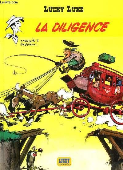 Lucky Luke, N°1 : La Diligence