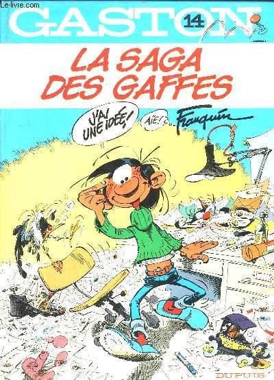 Gaston N°14 : La Saga des Gaffes