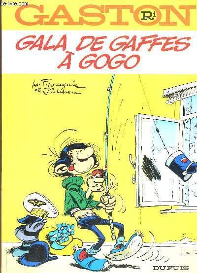 Gaston N° R1 : Gala de Gaffes à Gogo.