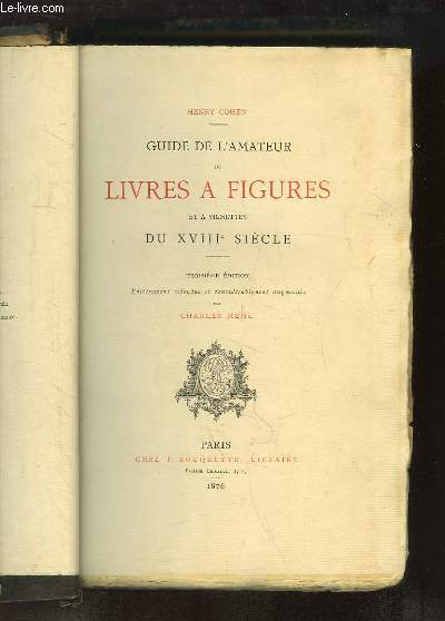 Guide de l'Amateur de Livres à Figures et à Vignettes du XVIIIe siècle