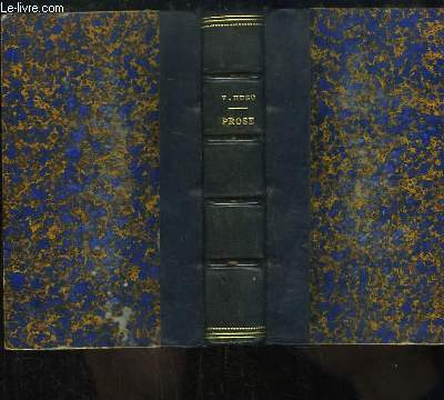 Morceaux choisis de Victor Hugo. Prose.