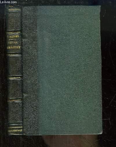 Poésies Complètes. Albertus, La Comédie de la Mort, Poésies diverses, Poésies nouvelles.