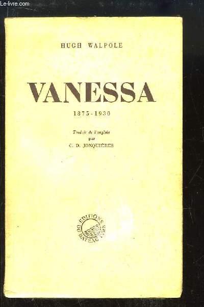 Vanessa 1875 - 1930