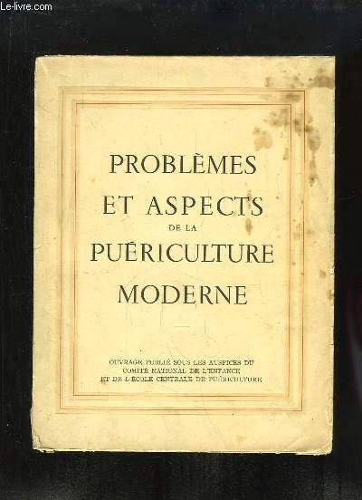 Problèmes et Aspects de la Puériculture Moderne.