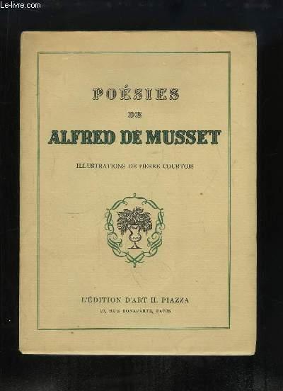 Poésies d'Alfred de Musset