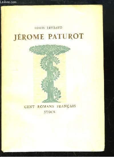 Jérôme Paturot. A la recherche d'une position sociale.
