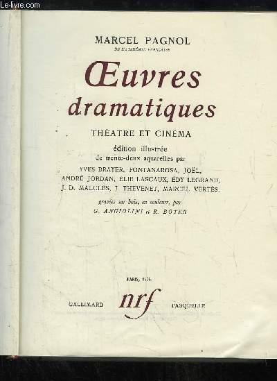 Oeuvres Dramatiques. Théâtre et Cinéma.