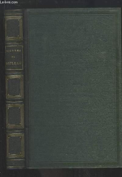 Oeuvres de Boileau, avec notes et imitations des auteurs anciens.