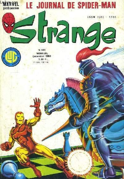 Strange, tout en couleurs - N°168