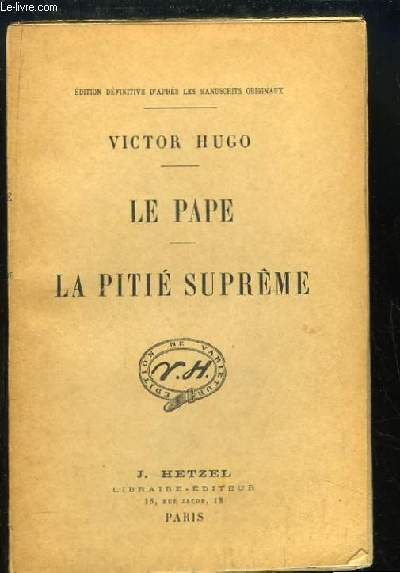 Le Pape - La Pitié Suprême.