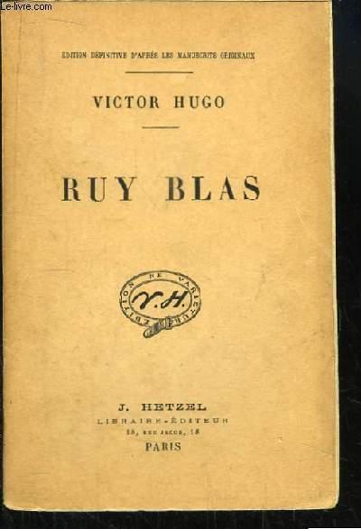 Ruy Blas.