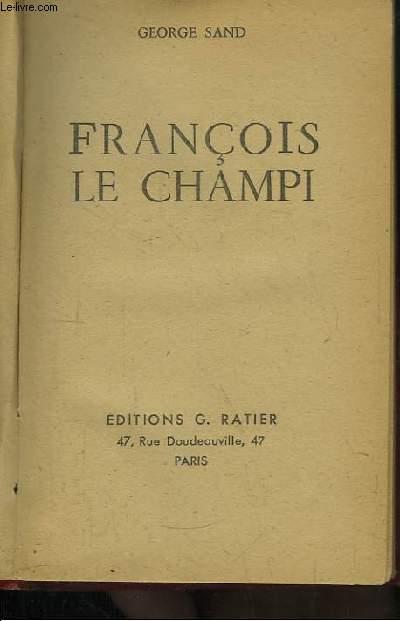 François le Champi.