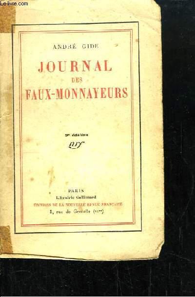 Journal des Faux-Monnayeurs.