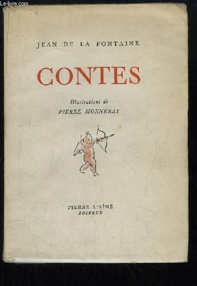 Contes. Illustrations de PIERRE MONNERAT.