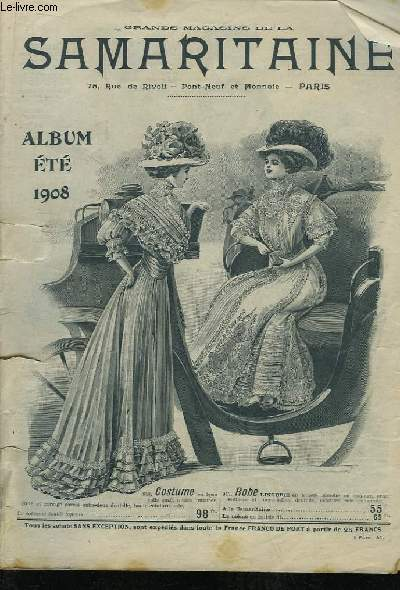 Catalogue des Grands Magasins de la Samaritaine, Album Eté 1908