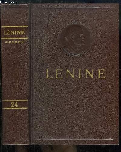 Oeuvres de V. Lénine. TOME 24 : Avril - Juin 1917