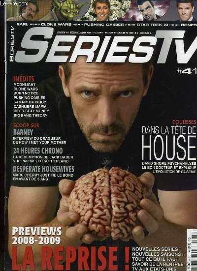 Series TV, N°41 : Dans la tête de House, David Shore psychanalyse le bon docteur et explique l'évolution de la série - Previews 2008/2009, la reprise ! ...