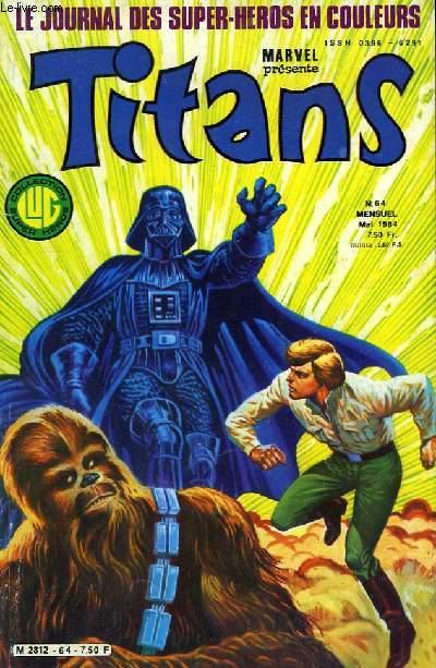 Titans, le journal des super-héros en couleurs, N°64