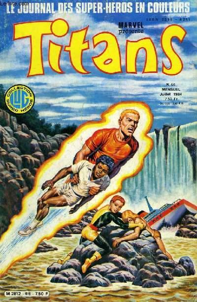 Titans, le journal des super-héros en couleurs, N°66