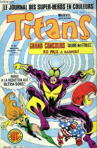 Titans, le journal des super-héros en couleurs, N°83