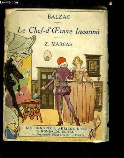 Le Chef-d'Oeuvre Inconnu - Z. Marcas