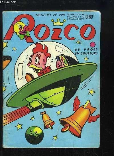 Roico N°228 : La chasse aux fauves
