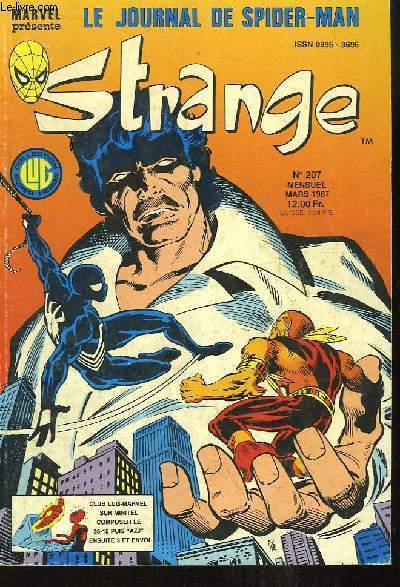 Strange, le journal de Spiderman - N°207