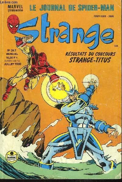 Strange, le mensuel des super-héros - N°247