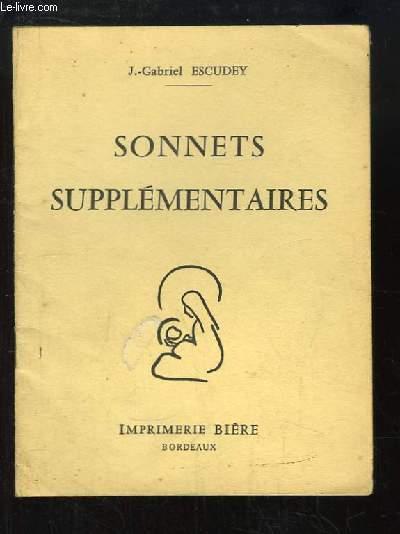 Sonnets Supplémentaires.