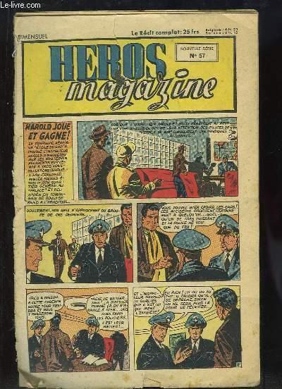 Héros Magazine, N°57 nouvelle série : Harold joue et gagne