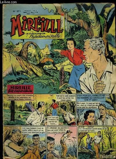 Mireille, le magazine de Mademoiselle. N°271 : Madame et son Auto - Mes dix-huit ans - La cavalière au destrier blanc - Michèle MORGAN ...