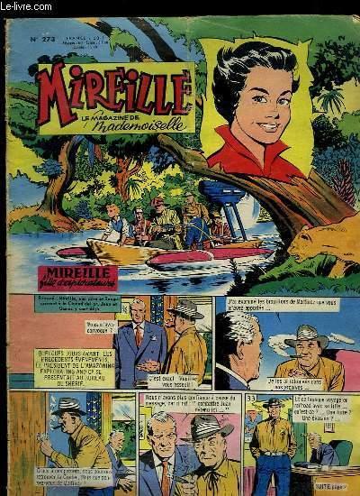 Mireille, le magazine de Mademoiselle. N°273 : Le viel homme et la mer - Le mousse de la belle aurore - Maria Callas ...