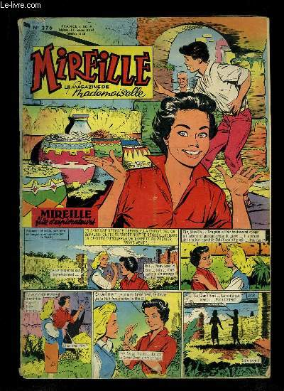 Mireille, le magazine de Mademoiselle. N°276 : Les Ballerines - Yves Montand ...