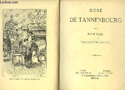 Rose de Tannenbourg.